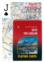 Playing Cards Skye Cuillin (Apr)