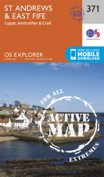 Explorer Active 371 St Andrews & East Fife