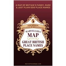 Marvellous Map of Great British Place Names (Nov)