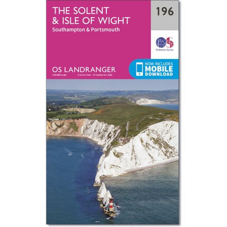 Landranger 196 the Solent & the Isle of Wight, Southhampton