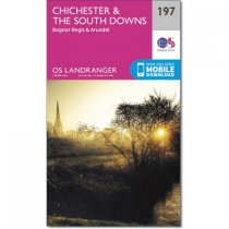 Landranger 197 Chichester & the South Downs