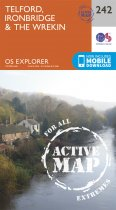 Explorer Active 242 Telford, Ironbridge & the Wrekin