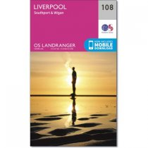 Landranger 108 Liverpool, Southport & Wigan