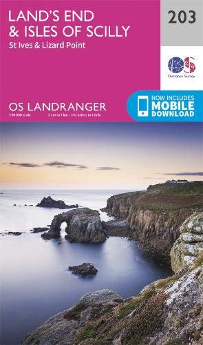 Landranger 203 Lands End & Isles of Scilly