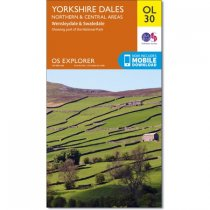 Explorer Active OL 30 Yorkshire Dales Northern & Central