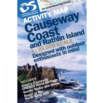Activity Map Causeway Coast Laminated