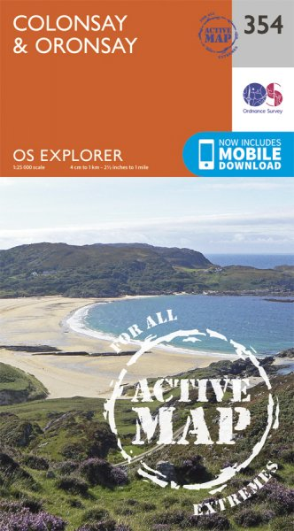 Explorer Active 354 Colonsay & Oronsay