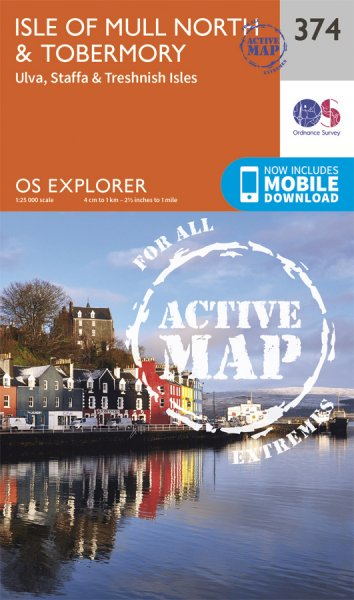 Explorer Active 374 Isle of Mull North & Tobermory