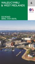 OS Road 6 Wales & West Midlands