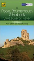 Walkers Map 06 Poole Bournemouth & Purbeck