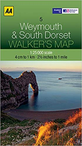 Walkers Map 05 Weymouth & South Dorset
