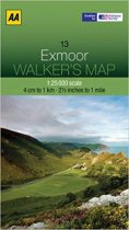 Walkers Map 13 Exmoor