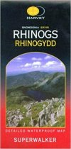 Superwalker Map Snowdonia Rhinogs