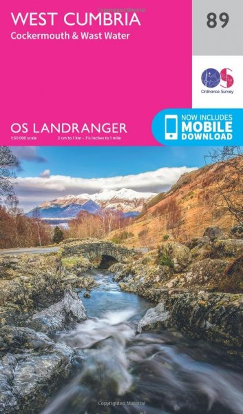 Landranger 89 West Cumbria