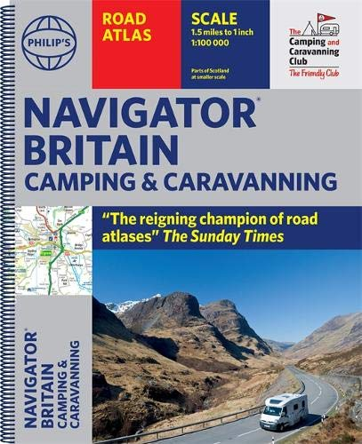 Navigator Camping & Caravanning Atlas of Britain