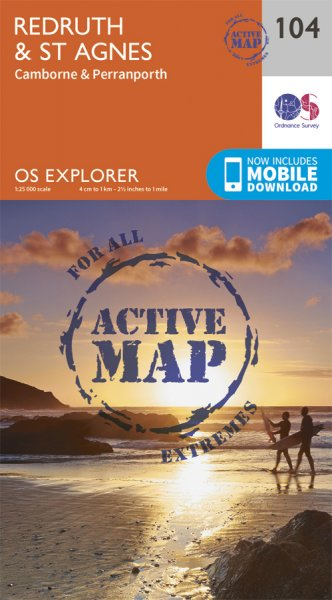 Explorer Active 104 Redruth & St Agnes