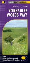 XT40 National Trail Map Yorkshire Wolds Way