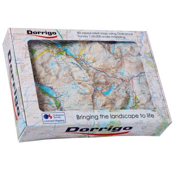 Relief Map Snowdon Summit (Dorrigo)