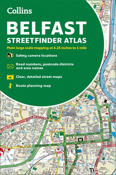 Belfast Street Finder Atlas (Col) (Feb)