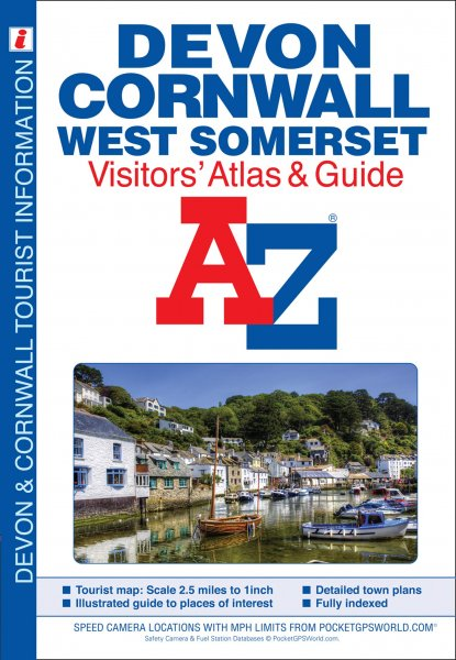 Devon, Cornwall & West Somerset Visitor's Atlas