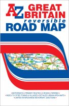 Great Britain Road Map (AZ)