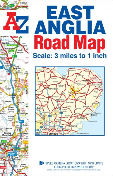 East Anglia Road Map