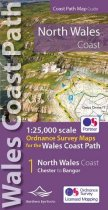 North Wales Coast Path Map (Jul)