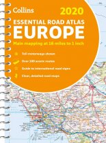 Europe Road Atlas 2020 (Mar)