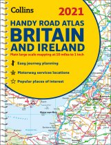 Britain & Ireland Road Atlas Handy Spiral 2021 (Collins)