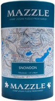 Mazzle Map Jigsaw Snowdon (Harvey)
