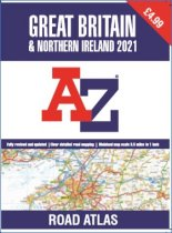 Great Britain & NI Road Atlas 2021 (AZ) (A3 Value ed) (Oct)