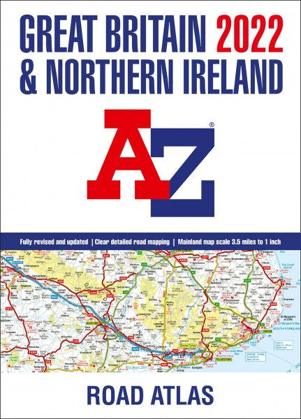 Great Britain Road Atlas 2022 A3 (AZ) (May)