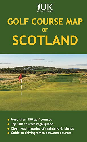 Golf Course Map of Scotland (Apr)