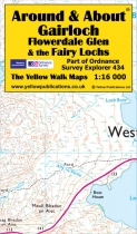 A&A Map Gairloch, Flowerdale Glen & the Fairy Lochs