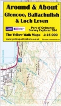 A&A Map Glencoe, Ballachulish & Loch Leven & Walks