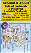 A&A Map Kyle of Lochalsh & Plockton, Lochalsh Peninsula