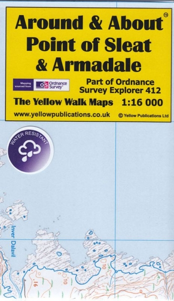 A&A Map Point of Sleat and Armadale, Skye