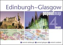 Edinburgh & Glasgow Popout Map
