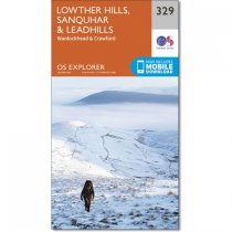 Explorer 329 Lowther Hills, Sanquhar & Leadhills