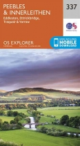 Explorer Map 337 Peebles & Interleithen