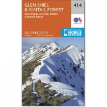 Explorer 414 Glen Shiel & Kintail Forest