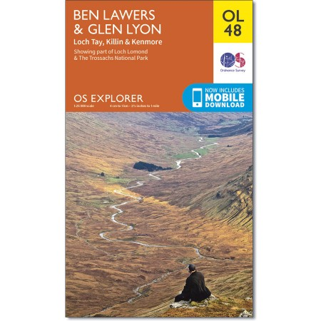 Explorer OL 48 Ben Lawers & Glen Lyon