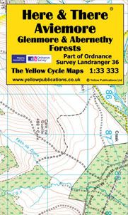 H&T Map Aviemore, Glenmore & Abernethy Forests
