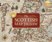 Jigsaw Scottish Map 1000pc