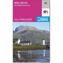 Landranger 41 Ben Nevis, Fort William & Glen Coe