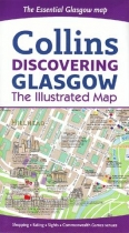 Map - Discovering Glasgow Illustrated