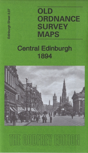Old OS Map Edinbugh Central 1894