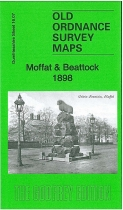 Old OS Map Moffat & Beattock 1898